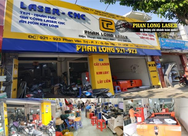 Công ty Gia Công Cắt Khắc Laser CNC tại 921-923 Phan Văn Trị, Quận Gò Vấp, Sài Gòn