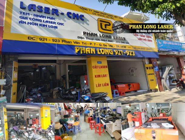Địa chỉ Xưởng Gia Công Cắt khắc Laser CNC tại 921-923 Phan Văn Trị, Gò Vấp, Tp Hồ Chí Minh