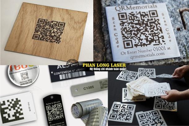 Địa chỉ cơ sở chuyên nhận in laser, khắc laser mã vạch, in khắc thông số kỹ thuật lên mọi chất liệu