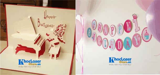 Nhận cắt giấy trang trí sinh nhật tại Gò Vấp Tân Bình Thủ Đức Phú Nhuận