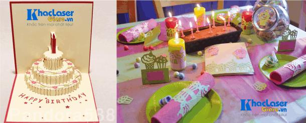 Cắt giấy trang trí sinh nhật tại Sài Gòn