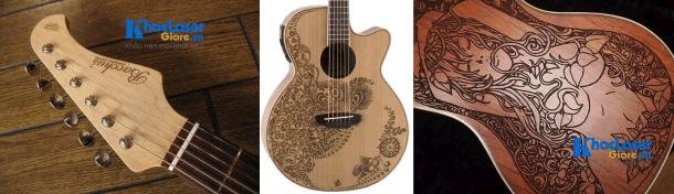 Khắc hình lên guitar tại Thủ Đức, Phú Nhuận