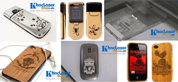 Khắc laser hình ảnh lên vỏ điện thoại tại Gò Vấp, Cần Thơ, Đà Nẵng, Hà Nội