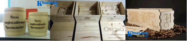 Khắc hộp rượu hộp gỗ tại Bình Thạnh, Tân Bình, Tân Phú, Bình Tân, Quận 12, Quận Gò Vấp