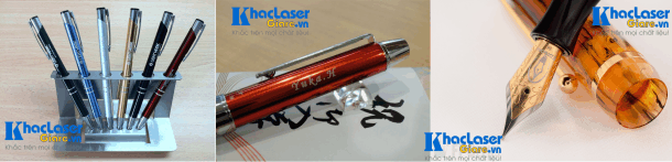 Khắc chữ khắc tên lên bút viết máy tại TpHCM Hà Nội Cần Thơ