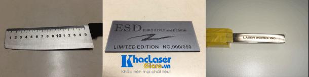Khắc laser trên kim loại ở đâu giá rẻ