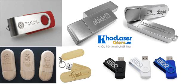 Dịch vụ khắc USB, khắc hình ảnh, khắc tên khắc chữ tại TPHCM bằng công nghệ laser