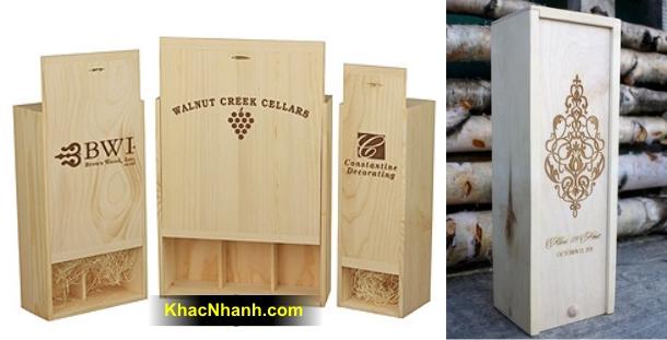 Sản xuất hộp gỗ theo yêu cầu tại Thanh Xuân Hà Nội