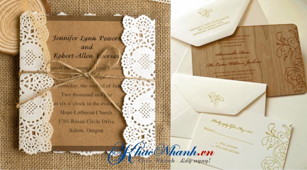 Địa chỉ làm thiệp cưới tại Hà Nội Sài Gòn & Cần Thơ