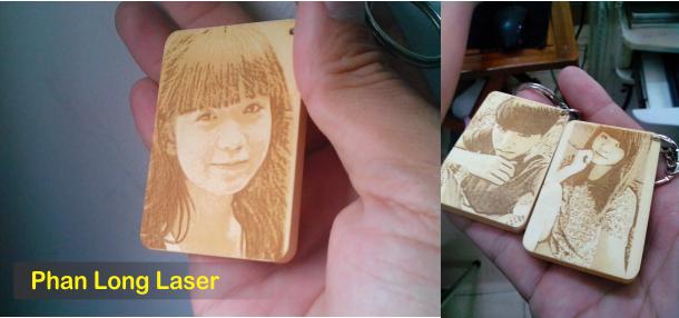 Địa chỉ khắc móc khóa gỗ khắc hình khắc chân dung tại TPHCM
