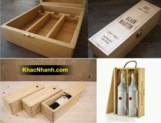 Địa chỉ sản xuất hộp rượu tại Cần Thơ