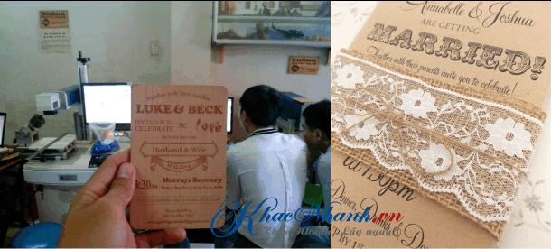 Địa chỉ làm thiệp cưới uy tín tại Cần Thơ Hà Nội và TPHCM